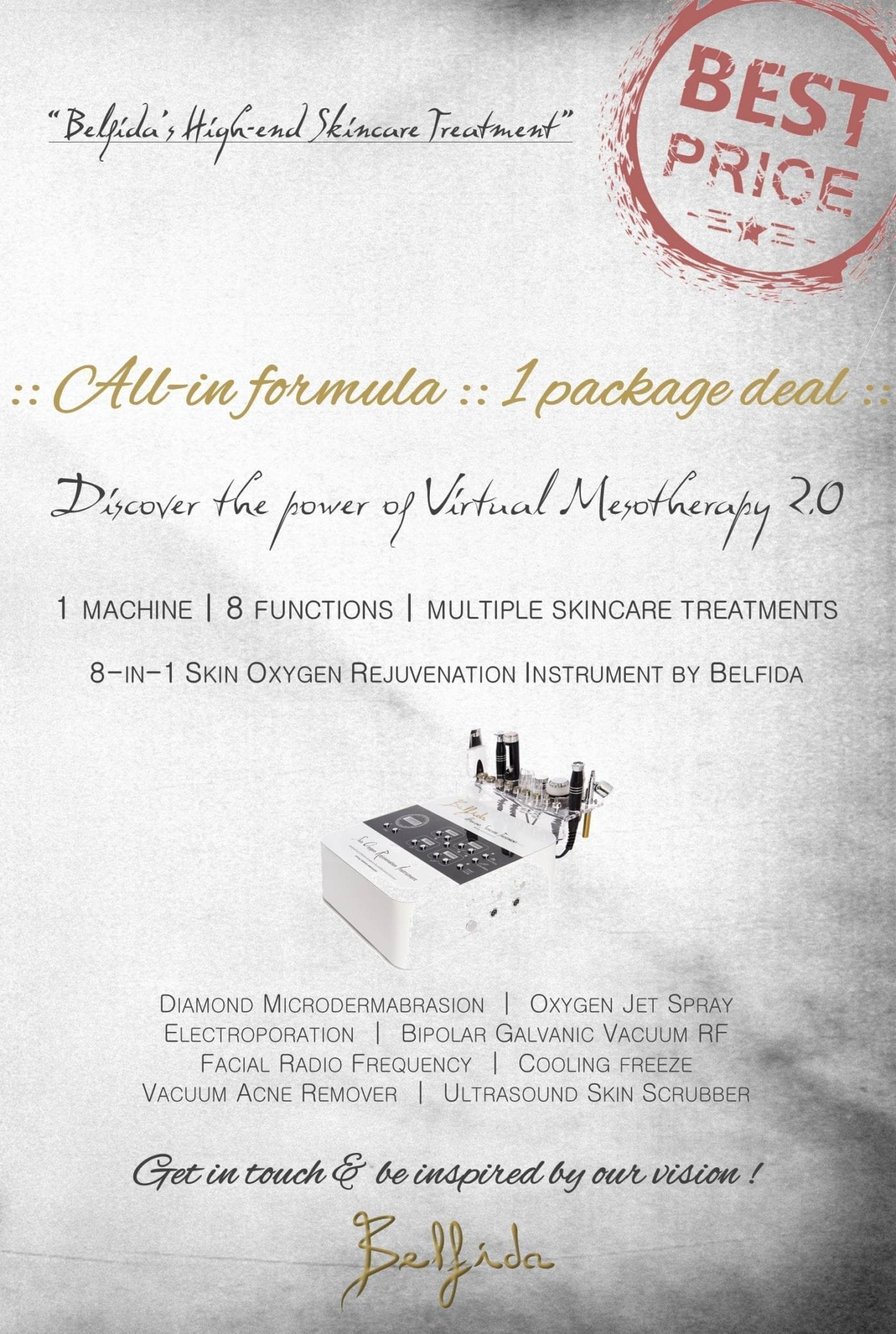 Belfida_High-end Skincare Treatment_Virtual Mesotherapy